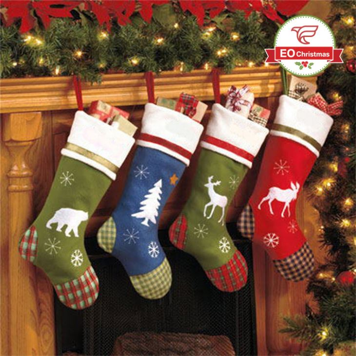 China Animal Cartoon Christmas Stockings Manufacturers, Suppliers and Distributor - Factory Wholesale - EO Christmas