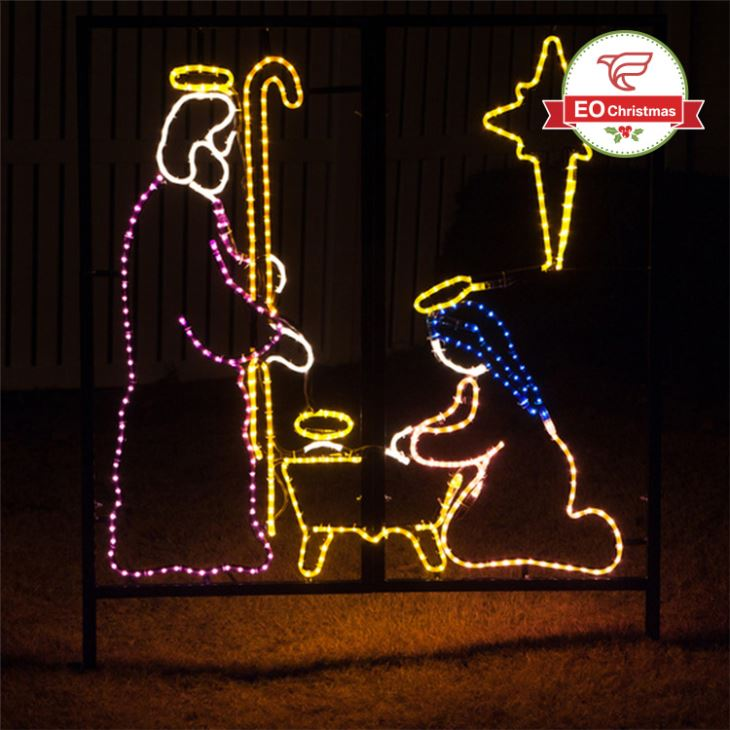 nativity christmas light
