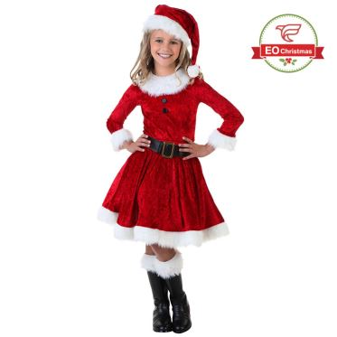 Children Santa Claus Costume