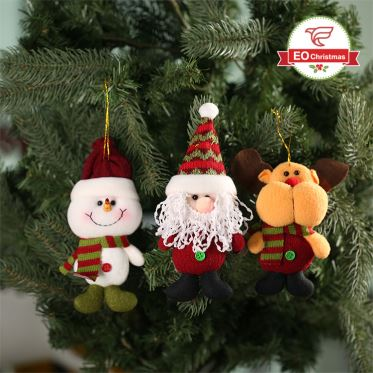 Christmas Doll Hanging Tree Ornaments