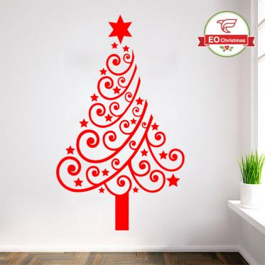 Christmas Tree Christmas Stickers