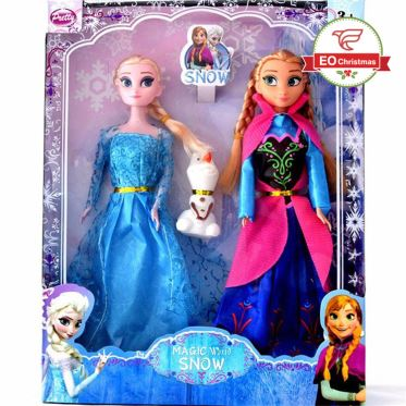 Snow Queen Christmas Dolls