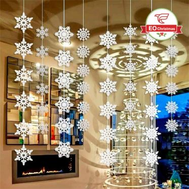 Snowflake Christmas Ceiling Decoration