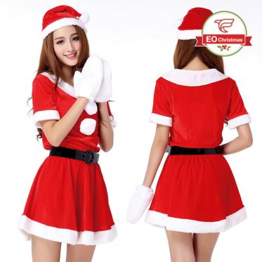 Women Santa Claus Costume